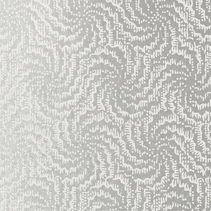 Anna French Cirrus Wallpaper in White on Pearl