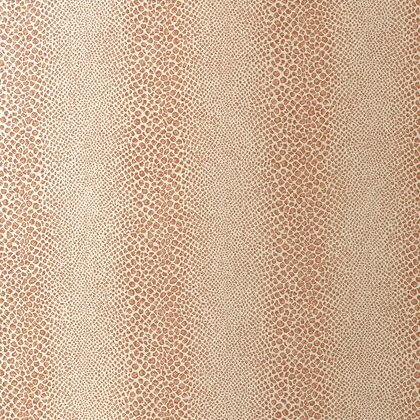 Anna French Mamba Wallpaper in Blush on Metallic