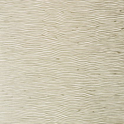 Anna French Onda Wallpaper in Metallic Gold on Cream
