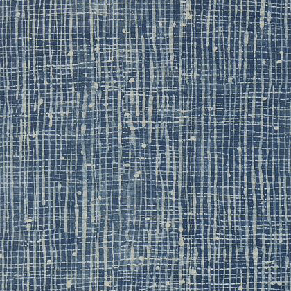 Anna French Violage Wallpaper in Navy