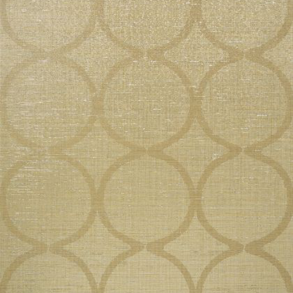Anna French Watercourse Wallpaper in Metallic on Neutral