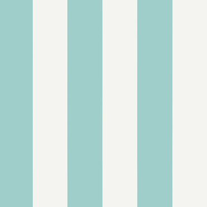 Thibaut Summer Stripe Wallpaper In Turquoise