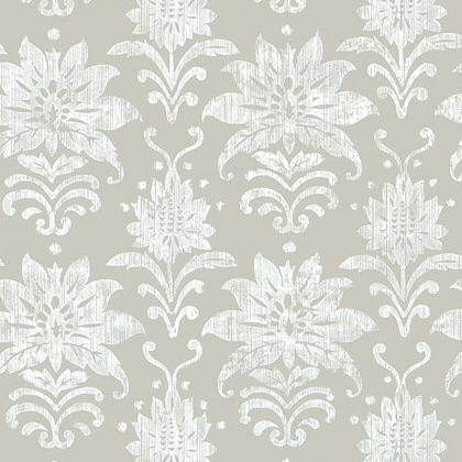 Thibaut Tanglewood Wallpaper in Grey