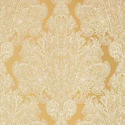 Anna French Auburn Wallpaper in Metallic Gold