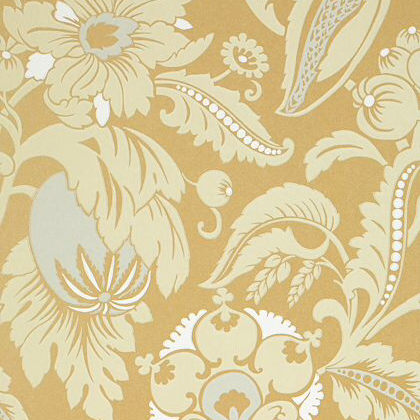 Anna French Mallorca Wallpaper In Metallic Gold