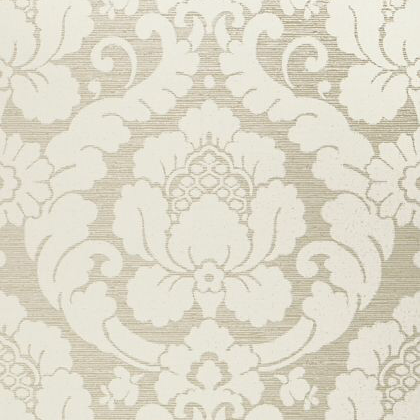 Anna French Marlow Wallpaper in Pearl