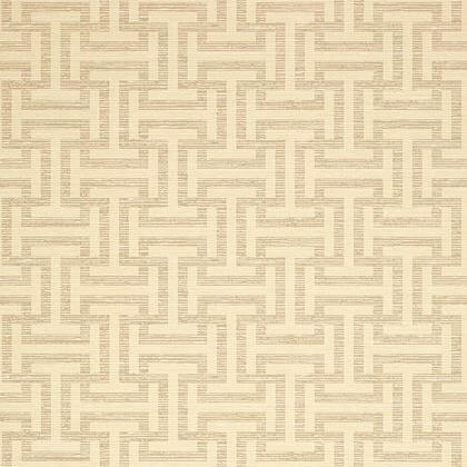 Anna French Rymann Wallpaper in Beige