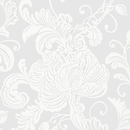 Anna French Verey Wallpaper in Grey