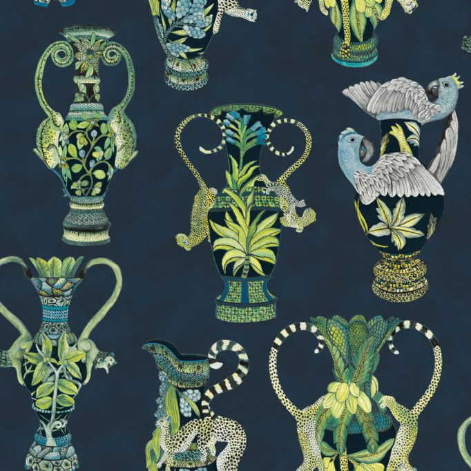Cole & Son Khulu Vases Wallpaper 109/12058