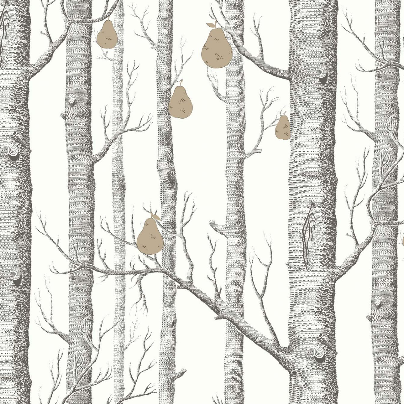 Cole & Son Woods and Pears Wallpaper 95 5027