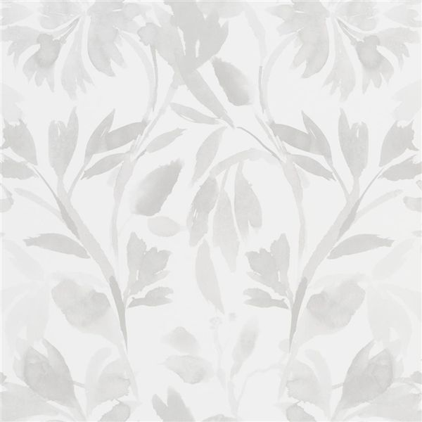 Designers Guild Patanzzi Wallpaper in Platinum