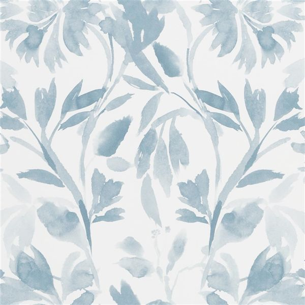 Designers Guild Patanzzi Wallpaper in Slate Blue