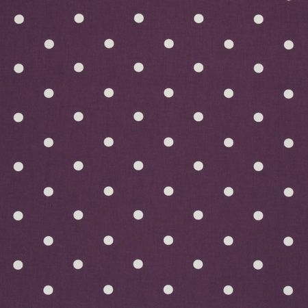 Dotty Berry Oilcloth.