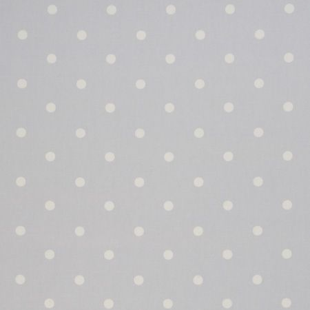 Dotty Grey Oilcloth.
