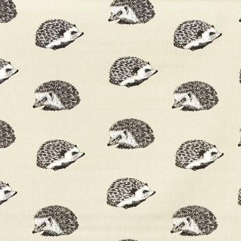 Hedgehog Matt Oilcloth in Canvas