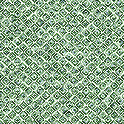 Indian Diamond Wallpaper in Green