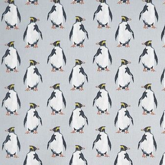 Penguin Oilcloth in Arctic