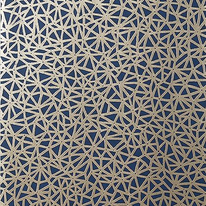 Thibaut Aedan Wallpaper in Navy
