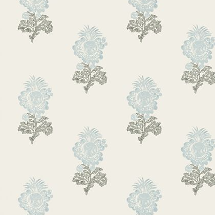 Thibaut Aldith Wallpaper in Aqua