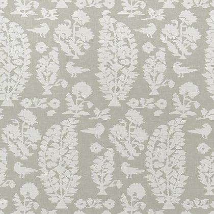 Thibaut Allaire Wallpaper in Grey
