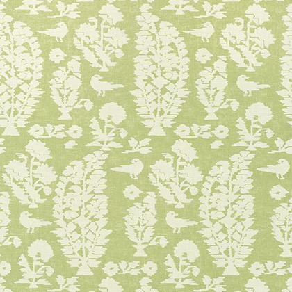 Thibaut Allaire Wallpaper in Spring Green