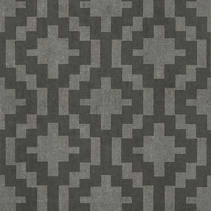 Thibaut Andes Wallpaper in Charcoal