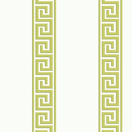 Thibaut Andreas Stripe Wallpaper in Green