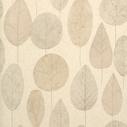 Thibaut Bedford Park Wallpaper in Stone