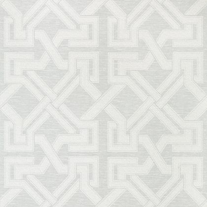 Thibaut Benedetto Wallpaper in Light Grey