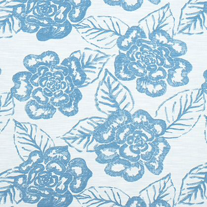Thibaut Bonita Springs Fabric in Sky Blue