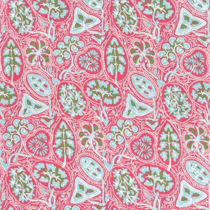 Thibaut Cochin Fabric in Pink