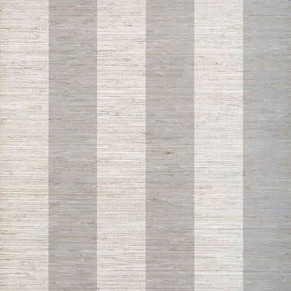 Thibaut Crossroad Stripe Wallpaper in Grey
