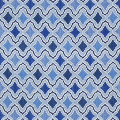 Thibaut Cruising Fabric in Blue