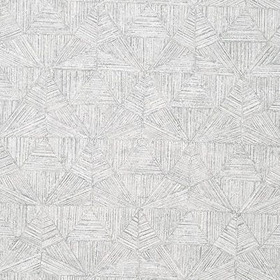 Thibaut Crystalla Wallpaper in Grey