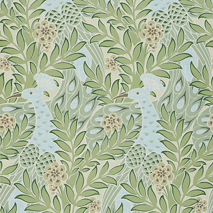 Thibaut Desmond  Wallpaper in Aqua / Green