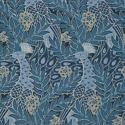 Thibaut Desmond  Wallpaper in Navy