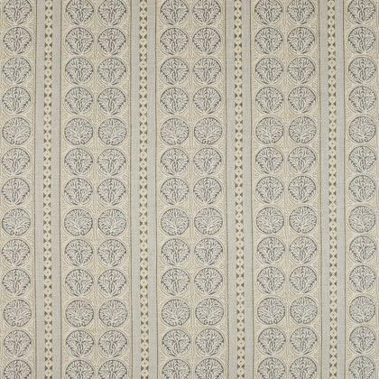 Thibaut Fair Isle Fabric in Grey