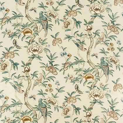 Thibaut Giselle Fabric in Beige