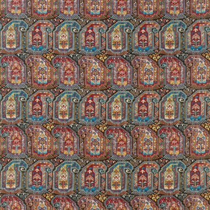 Thibaut Gleniffer Fabric in Brown