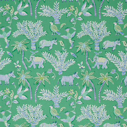 Thibaut Goa Fabric in Green