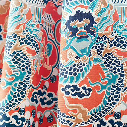Thibaut Imperial Dragon Fabric