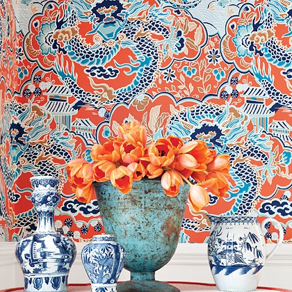 Thibaut Imperial Garden Wallpaper