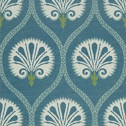 Thibaut Kimberley Wallpaper in Teal