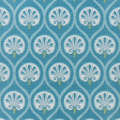 Thibaut Kimberly Fabric in Teal