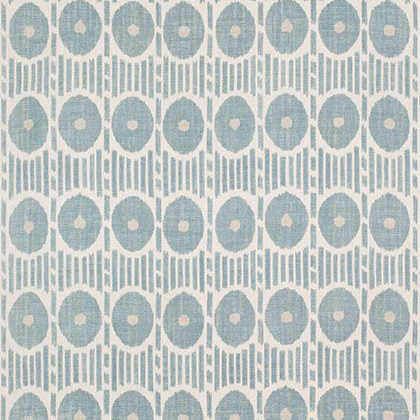 Thibaut Mesa Ikat Fabric in Aqua