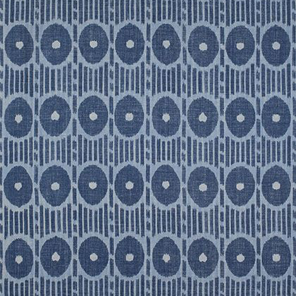 Thibaut Mesa Ikat Fabric in Blue