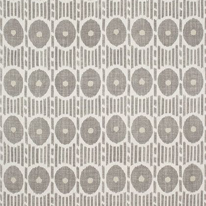Thibaut Mesa Ikat Fabric in Grey