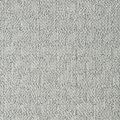 Thibaut Milano Square Wallpaper in Grey