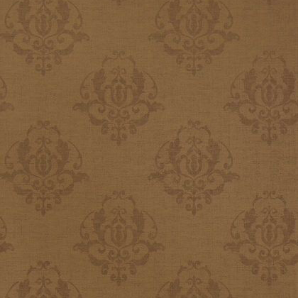 Thibaut Miranda Wallpaper in Metallic Chestnut