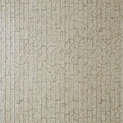 Thibaut Mother of Pearl Wallpaper in Metallic Pewter